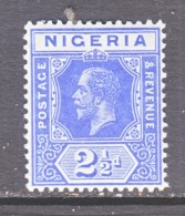 NIGERIA  4    *    Wmk. 3 - Nigeria (...-1960)