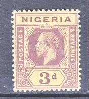 NIGERIA  5    *    Wmk. 3 - Nigeria (...-1960)