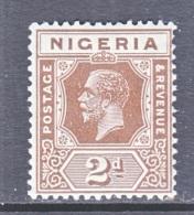 NIGERIA  23  Die  II    *    Wmk. 4 - Nigeria (...-1960)