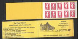 France 1991 Carnet N° C 2712-C1 Poste De Marseille - Usados Corriente