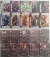 Sangokushi Taisen : 10 Japanese Trading Cards - Trading Cards