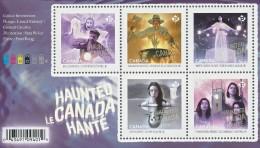 SC0000 HAUNTED CANADA 3 (SEPTEMBER 8, 2016) SOUVENIR SHEET