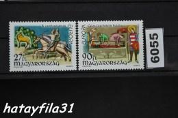 Ungarn  1997  Mi. 4455 - 4456  ** Postfrisch    /  Europa : Sagen Und Lgenden - Hongrie