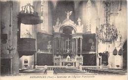 VAR  83   BRIGNOLES   INTERIEUR DE L'EGLISE PAROISSIALE - Brignoles