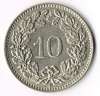 Switzerland 1957B 10c - Switzerland