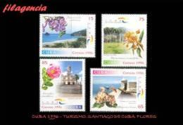 CUBA MINT. 1996-15 TURISMO. SANTIAGO DE CUBA. FLORES - Cuba