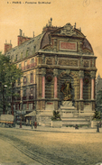 PARIS - Fontaine St-Michel - France
