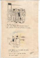 Dessins R GUERIN , 19.5 X 29.5 , COURSES HIPPIQUES , Frais Fr : 1.50€ - Drawings