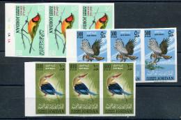 1964 -JORDAN- VERY RARE BIRDS- 18 VAL. PERF.+ IMPERF.M.N.H. -LUXE ! 2 SCANS - Jordanien