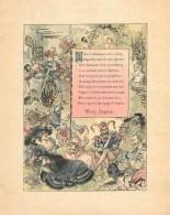 BELLE ILLUSTRATION ANCIENNE - ROBIDA POUR RABELAIS (21 X 26 Cm) -BELLE PIECE à ENCADRER - Altre Collezioni