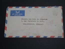 ARABIE SAOUDITE - Enveloppe Pour La France En 1955 , Affranchissement Au Verso - A Voir - L  3411 - Saudi Arabia