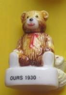 Fève   -  Les Oursons En Peluche  - Ours 1930 -  Réf AFF 2007 93 - Tiere