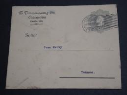 CHILI - Entier Postal De Casilla Pour Temuco En 1912 - A Voir - L  3416 - Chili