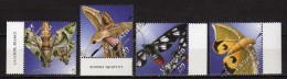 Vanuatu 2003 Moths.Papillons.Fauna/Insects/Butterflies & Moths.MNH - Vanuatu (1980-...)