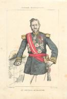 PORTRAIT DU GENERAL BOULANGER - FEUILLE HORS TEXTE D'époque  (20,5 X 30 Cm)- BELLE PIECE à ENCADRER - Non Classés