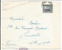 BELGIQUE LETTRE DE UCCLE POUR LA FRANCE 1946 - Marcophilie