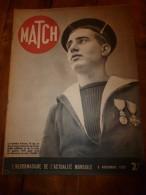 1939 MATCH : Le Matelot Gérard Décoré ; Vie En URSS;Les Pigeons-soldats; Strasbourg ; La Marine Contre Les Avions - Magazines & Papers