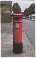 Cambridge  - Spiked Pillar Box - Cheddars Lane / Newmarket Road  - (Postmark: National Stamp Day 1981 - London) - Post