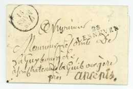 28 LESNEVEN (Finistère) – BRETAGNE – MIORCEC DE KERDANET (1752-1836) Maire Depute Ultra-royaliste Guibourger - 1801-1848: Precursores XIX