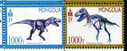 MG0196 Mongolia 2014 Dinosaur 2v MNH - Mongolia