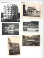 Besançon Lot 6 Photos Vers 1948-50 , Dont Villa Du Parc Et Nouvel Immeuble Sur Cet Emplacement - Photographs