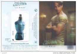 A. IMMEDIAT Carte Parfumée  Hologramme GAULTIER LE MALE à Patch - Modern (from 1961)