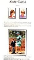 Ehrung Prinzessin Diana 1998 Tansania 2842/3+Block 385 ** 9€ Porträt Lady Di Respect Princess Of Wales Sheet Bf Tanzania - Tansania (1964-...)