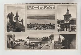 CPSM MORAT (Suisse-Fribourg) - 6 Vues - FR Fribourg