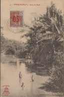 INDOCHINE VIETNAM CACHET THU DAU MOT 1913 / CPA  COIN DE RACH    Réf 3231 - Viêt-Nam
