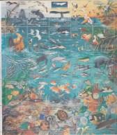 Mexico 1998,25V In Zd Bogen/reklame Readers Digest,birds.fish,whale,manati,coral,turtles,lobster,MNH/Postfris(L2639) - Oiseaux
