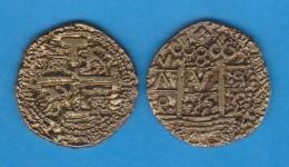 FELIPE  V  (1.700-1.746) 8 Escudos N.D. Oro  LIMA   SC/UNC  Réplica   DL-11.873 - Prove & Monete Ribattute