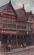 A R QUINTON - SALMON 1242 - CHESTER - BISHOP LLOYD'S PALACE - WITH PEOPLE - Quinton, AR