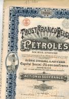 Truste Franco Belde Des Pétroles - Pétrole