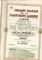Grand Bazar De La Place Saint Lambert - G - I