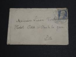 BELGIQUE - Lettre De Mons Pour Lille En 1907 - A Voir - L  3495 - 1905 Thick Beard