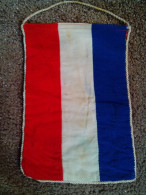 """ULTRA RARE FLAG FRANCE CHANGE TOURNAMENT FOOTBALL 1970""""S USED - Apparel, Souvenirs & Other"""