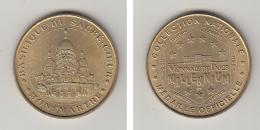 MONTMARTRE -- BASILIQUE DU SAVRE COEUR -  ANNEE 2001 - Monnaie De Paris