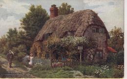 A R QUINTON - SALMON 1634 - LITTLE JANE'S COTTAGE, BRADING IW - Quinton, AR