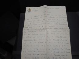 FRANCE - Lettre à Entête De L ´école National D´entraînement Physique Militaire De Pau En 1959 - A Voir - L  3497 - Documents