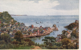 A R QUINTON - SALMON 2412 - LOOE FROM THE DOWNS - WITH BOATS - Quinton, AR