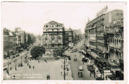 Brussel, Bruxelles,  Place De Brouckère, De Brouckère Plein (pk30452) - Places, Squares