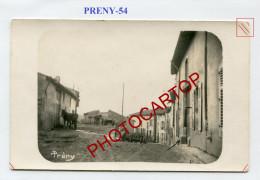 PRENY-CARTE PHOTO Allemande-Guerre 14-18-1 WK-FRANCE-54- - Altri Comuni