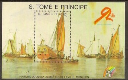 SAO TOMÉ AND PRINCIPE  1989  Ships - Sao Tomé Y Príncipe
