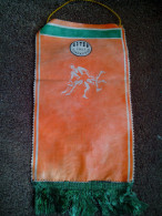 ULTRA RARE FLAG WRESTING CLUB BOTEV ZLATARICA 1921 BULGARIA  USED - Habillement, Souvenirs & Autres