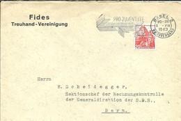 LETER BASEL 1943 - Postmark Collection