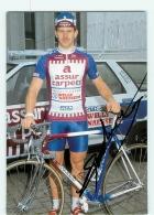 Peter SPAENHOVEN , Autographe Manuscrit, Dédicace. 2 Scans. Cyclisme. Assur Carpets - Cyclisme