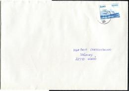 (1667) Aland Bedarfsbrief MiNr 312 EF, Aus 2011, Tagesstempel GODBY, Fähre, Schiff, Nach Värdö - Aland