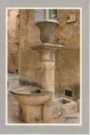 LORGUES : Fontaine De La Porte Du Tronc, Place Accarisio à L'entrée Du Ghetto Du XIVème Siècle - Lorgues