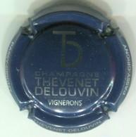 CAPSULE-CHAMPAGNE THEVENET-DELOUVIN N°13 Bleu Nuit & Métal - Andere