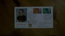 S.28.09.08.VATICANO.1984.FDC(CIRCULADO).GREGORIO MENDEL - FDC